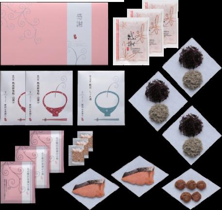 北の贅沢茶漬け 「北海三昧 弐」